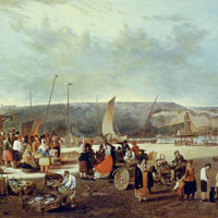 Fish Market at Boulogne