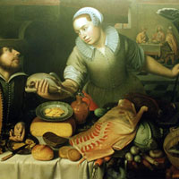 Supper at Emmaus by Glenn Goring